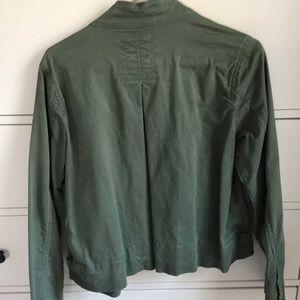 GAP Jackets & Coats - Hardly worn green Gap jacket